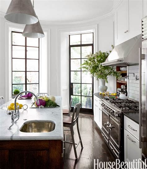 hammered prep sink transitional kitchen house beautiful