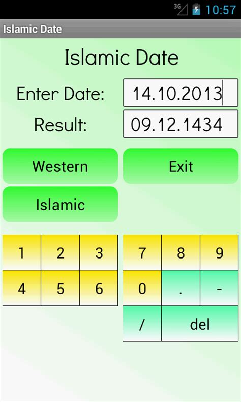 Calendar Calculator Hijri Islamic Date Calculator Android Apps On Play