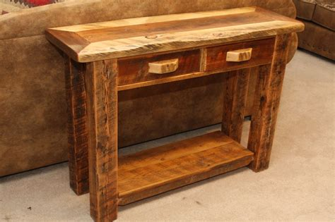 Rustic Living Room End Tables Barnwood Living Room Furniture Rustic Side Tables And