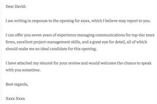 and sweet cover letter 6 cover letter exles that got something right