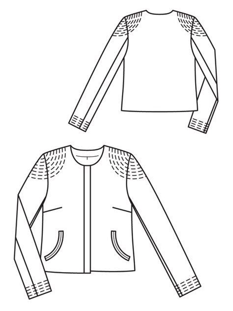 sewing pattern leather jacket 152 best women s sewing patterns images on pinterest