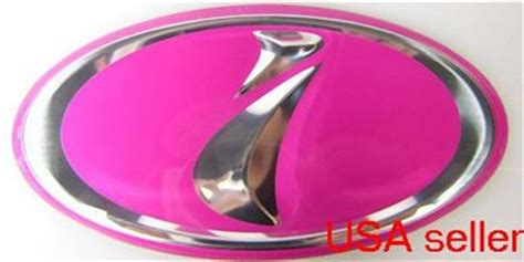 pink subaru emblem pink subaru i emblem badge wrx sti impreza forester ebay