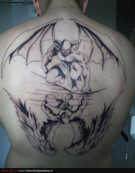 good angel bad angel tattoo designs and evil cross tattoos www pixshark images