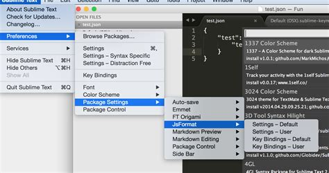 format html code in sublime format html code in sublime sublime text json formatter
