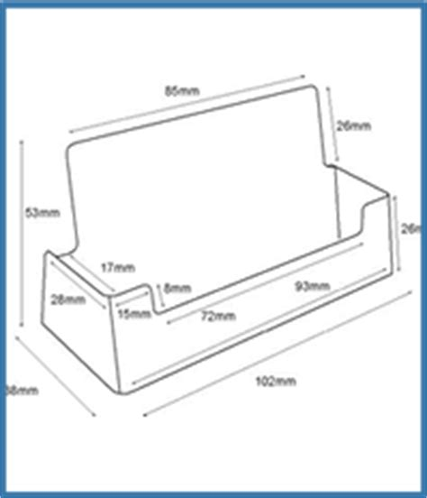 ral10 portrait free standing business card holder perspex plastic business card holders perspexpanels specialising perspex plastic business card holders