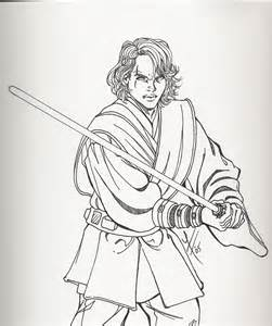 anakin skywalker coloring page anakin coloriage