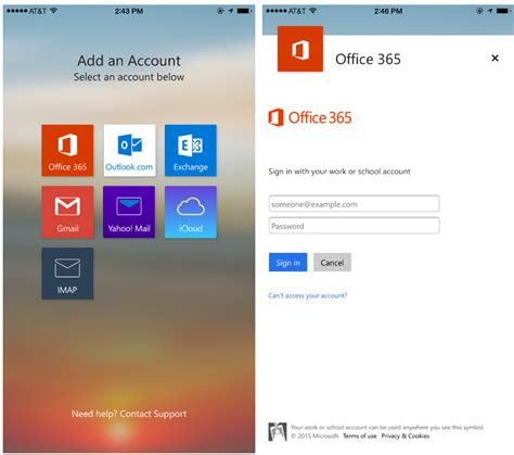 office 365 on android new access and security controls for outlook for ios and