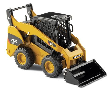 skid loader cat 272c skid steer loader with work tools 55167