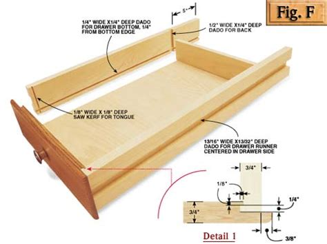 Simple Drawer Construction by Make Thedrawers