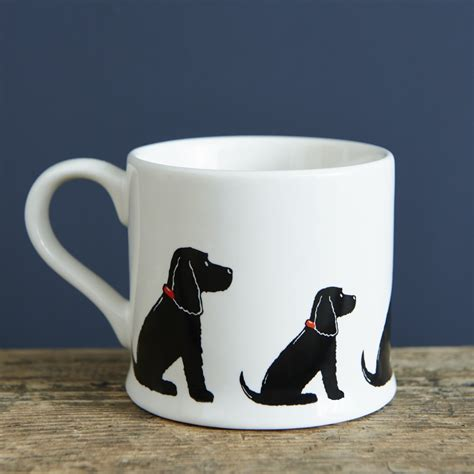russ design large mug by proudfamilyshop black cocker spaniel mug 163 15 95 mischievous mutts mugs