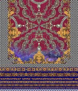 Synthetic Duvet Digital Textile Fabric Print And Designs Services For