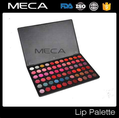 6 Lipstick Pallete 66 Warna cosmetic makeup lip stick wholesale no logo 66 colors lip