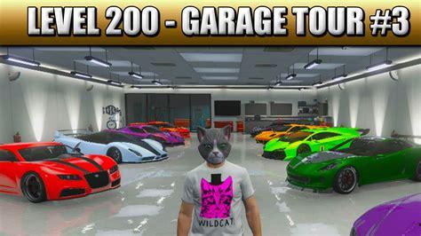 Gta 5 Garage by Gta 5 Level 200 Garage Tour 3 Ps4 1080p Gta