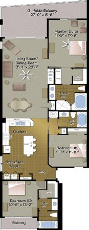 Majestic Resort Floor Plans by Condo Types Resort Collection