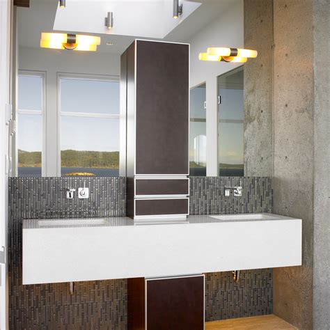 dinner in the sky bathroom remarkable interior faux stone wall decorating ideas
