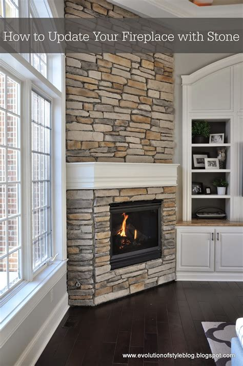 How To Update A Fireplace by How To Update Your Fireplace With Evolution Of Style
