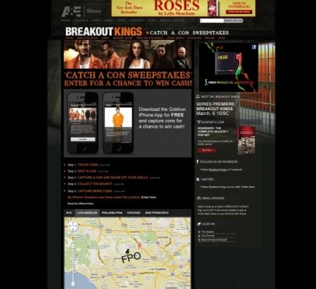 Sweepstakes Landing Page - breakout kings sweepstakes tierra innovation