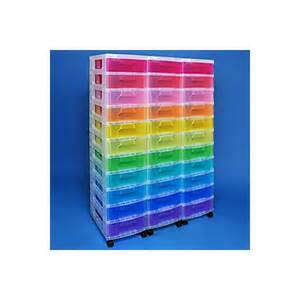 rangement mobile 33 tiroirs reallysusefulboxes