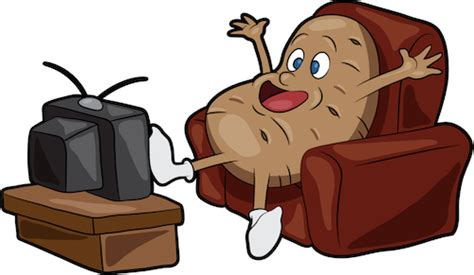 couch potato cartoon do you consume or create steemit