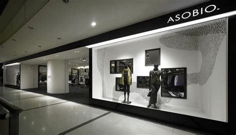 Hagiwara Shop By Design asobio fashion shop interior design 2 jpg 1024 215 586