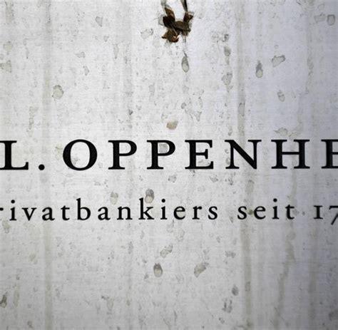 bank sal oppenheim verdacht auf untreue ermittlungen gegen fr 252 here sal