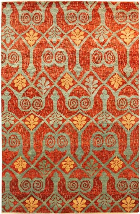 ikat rug 17 best images about orange palette on poppies