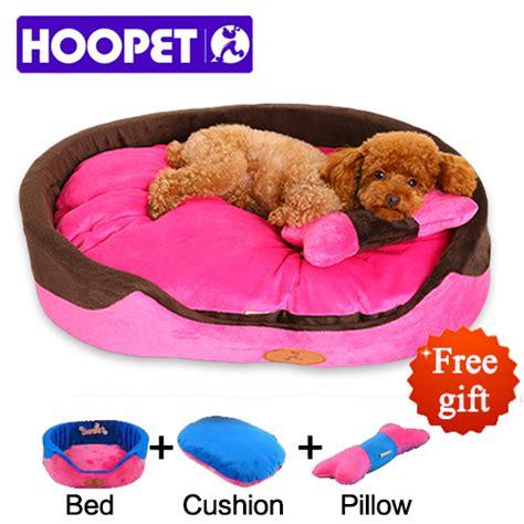 Tempat Tidur Anjing Size M hoopet small bed house durable soft pet sofa puppy cat mat princess style