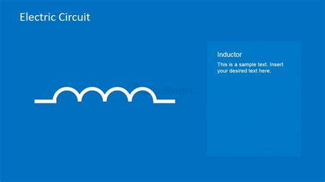 inductor european symbol inductor circuit symbol powerpoint template slidemodel