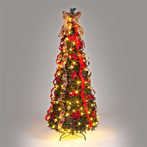 1 8m 6ft twilight pre dress slim pop up tree gift shop