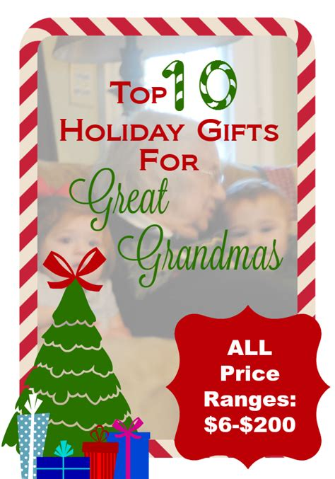 holiday gifts for great grandma serendipity and spice