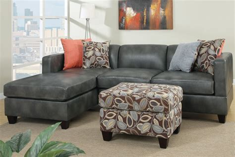 charcoal gray sectional sofa with chaise lounge thesofa