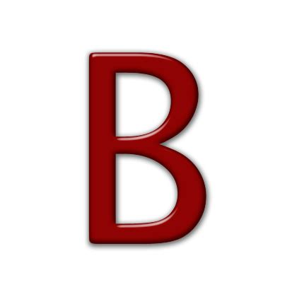 Bb Glossy capital letter b icon 074392 187 icons etc