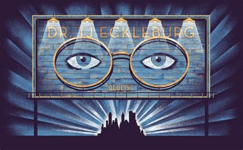billboard symbolism in the great gatsby eyes of dr tj eckleburg google search gatsby