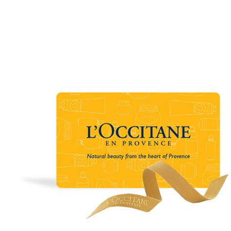 L Occitane Gift Card - l occitane boutique gift card 50 l occitane australia