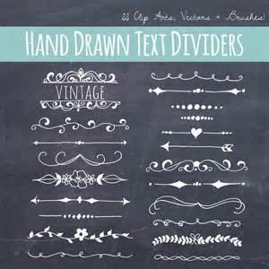 clip chalkboard text dividers plus photoshop brushes