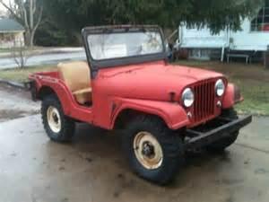 1957 Willys Jeep 1957 Cj5 In