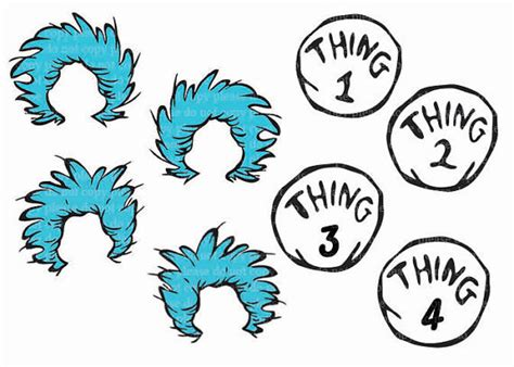 thing 1 template thing 1 and thing 2 printable clip 61
