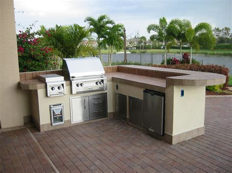 outdoor kitchen island prefab outdoor kitchen kits in various designs