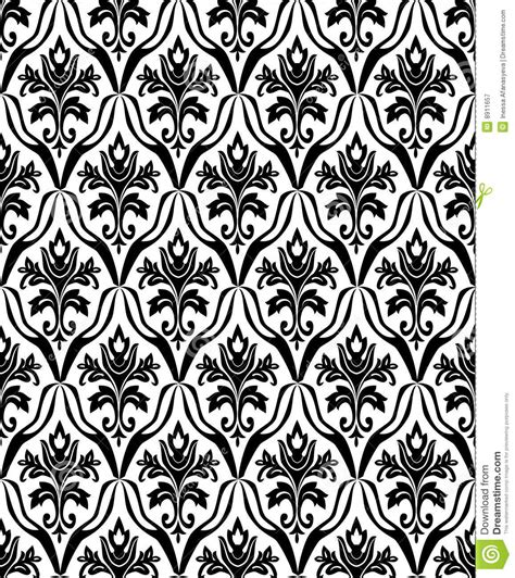 seamless pattern black and white black and white seamless pattern royalty free stock
