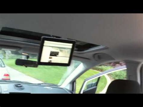 best ipad & ipad mini car sunroof mount. for ipad 1, 2, 3