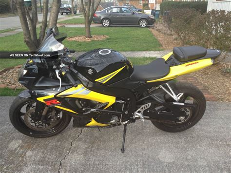 suzuki motorcycle black 2006 gsxr 750 black and yellow images