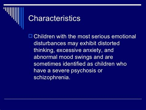 schizophrenia mood swings emotional disturbance