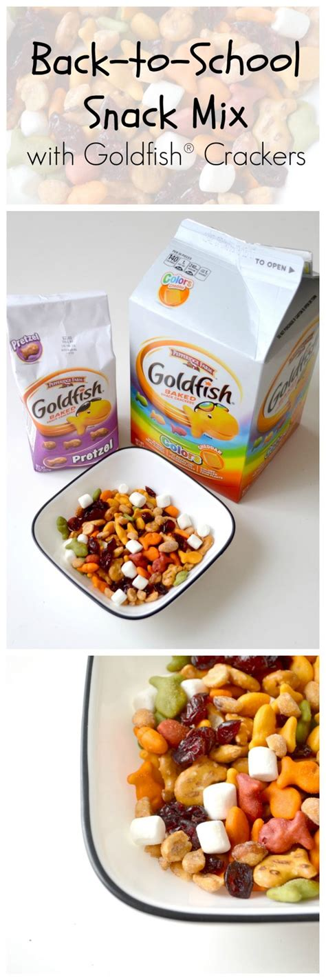 Granola Creations Original Mix 1kg Creation back to school snack mix with goldfish 174 crackers latta creations