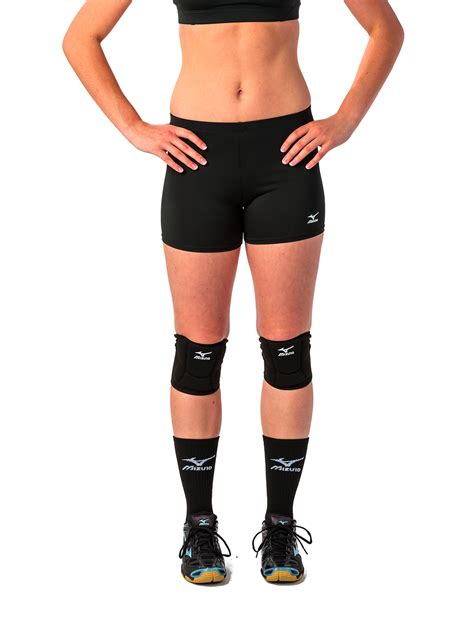 mizuno womens vortex  rise short midwest volleyball warehouse