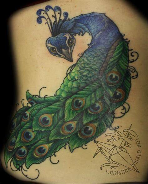 small peacock tattoos lucky bamboo tattoos coverup peacock backpiece