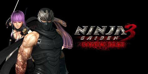 Gaiden 3 Razor Edge gaiden 3 razor s edge wii u juegos nintendo