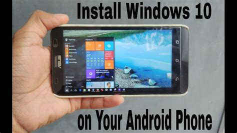 install android on windows tablet install windows xp 7 8 10 on android fastest pc emulator for android phone