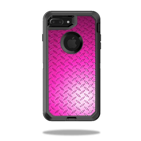 skin decal wrap for otterbox defender iphone 7 plus pink plate ebay