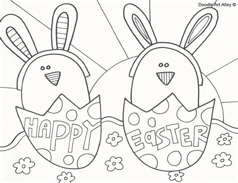 easter coloring pages easter coloring pages doodle alley