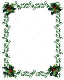 christmas border holly stock photo 169 irisangel 2143861